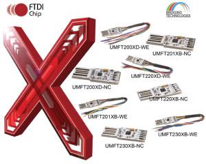 Nieuwe break-out-Boards voor FTDI-Chips