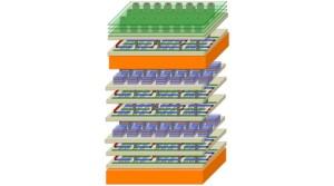 Wolkenkrabber-architectuur voor 1000 x beter presterende chips