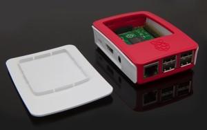 Officiële behuizing voor de Raspberry Pi