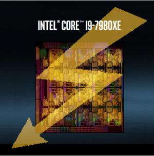 I9-7980XE. Afbeelding: Intel (gemodificeerd)