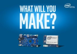 Intel Edison - What will you make?