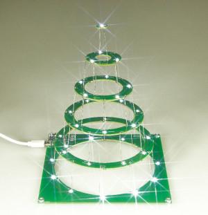 Gratis Kerstproject – knutsel uw eigen led-kerstboom