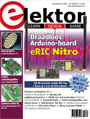 De januari/februari-editie 2016 van Elektor is nu verkrijgbaar!