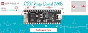 ESP32 Design Contest 2018 - wacht niet met publiceren