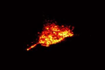 satellite tracking image