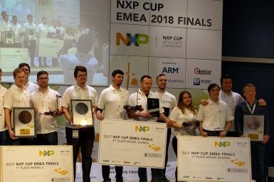 Finales de la NXP Cup EMEA 2018 chez Fraunhofer IIS, dans la ville où naquit Georg Ohm