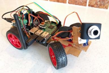 Banc d'essai : kit  Sunfounder Smart Video Car pour Raspberry Pi