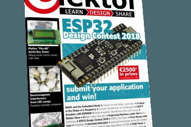 Elektor Magazine 2/2018 now on sale -- print or download
