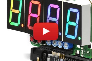 Full colour 7-segment-display: meer dan de cijfers