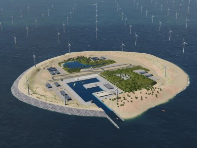 The €1.5 bn Plan to Build an Artificial Island for Offshore Wind