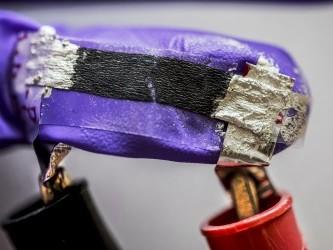 Carbon nanotubes transform toilet paper into disposable sensors
