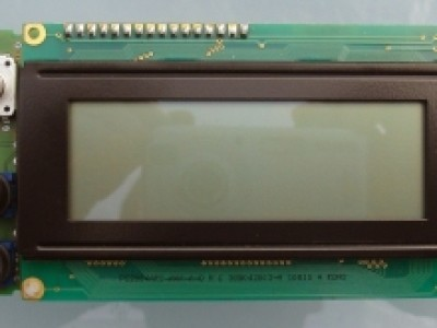 LCD 4x20, 1 rotary encoder, 2 pushbuttons