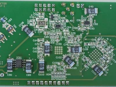 Bottom view of FPGA DSP Board (150177-1 v2.0)
