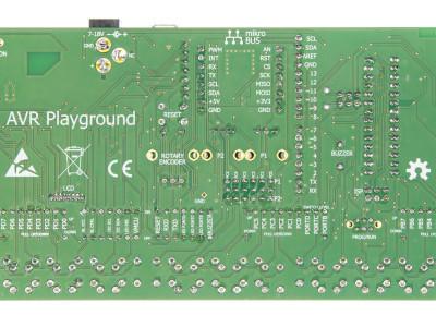 AVR Playground Bottom view
