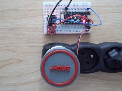 The test bed for BME280 sensor connected to the ESP32-PICO-D4 board