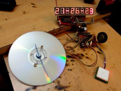 analog digital GPS clock