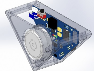 3D model of the pendulum