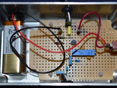 The Buffer Amplifier / Detector protptype