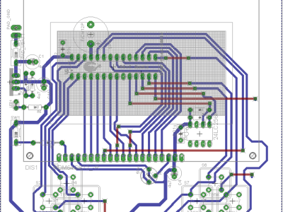 PCB of the Chip 8 V2