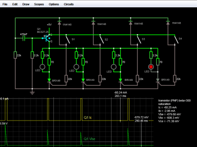 Circuit Simulator Screenshot