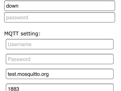 Config the IP with WifiManager