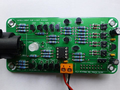 Channel board is finished and working.