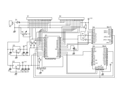 Diagram - main board / Schéma du circuit principal