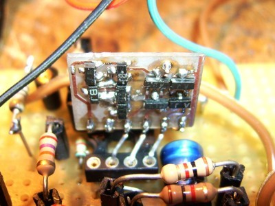 Replacing CA3080-Parts with some SOT23-Transistors on handmade Module