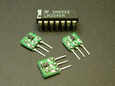 High Performance OTA with LM3046N for lower Supply-Voltages