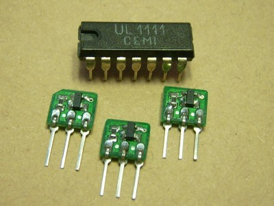 High Performance OTA with UL1111-Transistor-Array, orig. from Poland