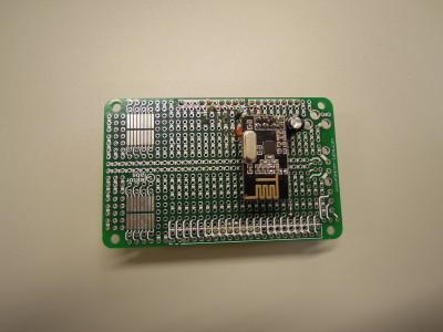 Prototype on ELPB board 150180-1
