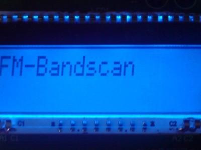 Starting FM-Bandscan