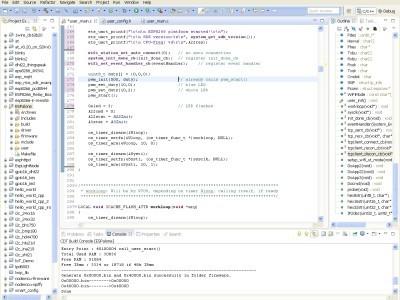 Screenshot Eclicpe IDE