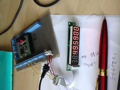 first testing.... display is working  ,next is the sound interface