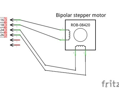 Stepper connection