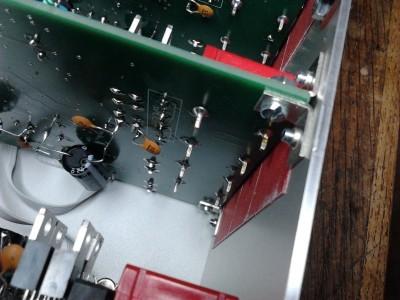 Close-up fixation satellite board