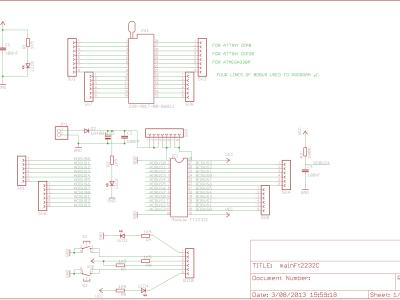 FTDI TEST BOARD AND AVR PROGRAMMER
