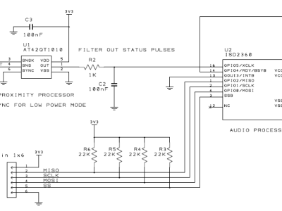 Schematic (early stage!)