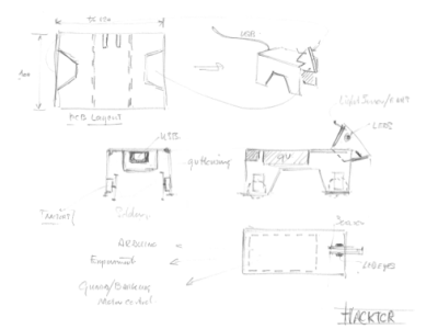 Concept sketch (PCB assembly)