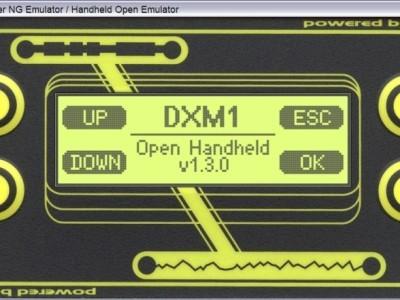 Screenshot of GTK3+ version of HHEmu