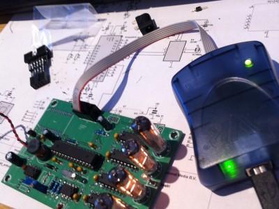 It Lives, AVR ISP programmer gets the clock going