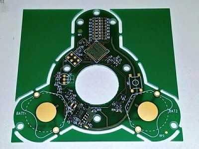 The first real PCB. Ready to be populated :-)