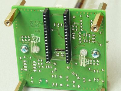Solder side of the PCB