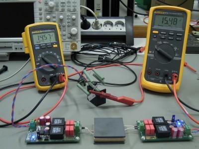 Measurement setup (2 x PCB 160119-1 v1.0)