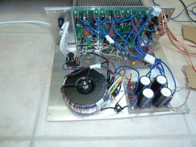 fertig zusammengebaute Elektronik