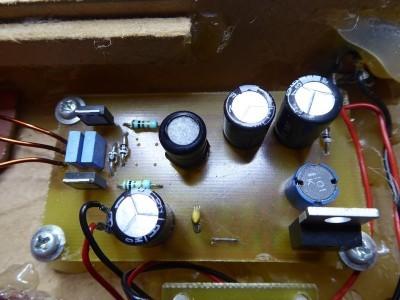 Buck converter + wireless power transmitter