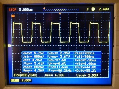 Schematic3 - Voltage at gates of the oscillator MOSFETs