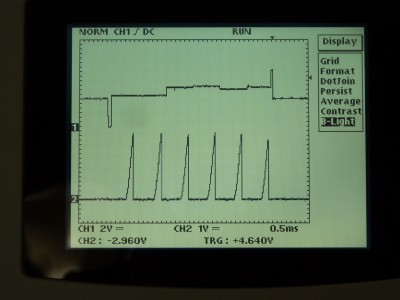 Electrodes measuring signals