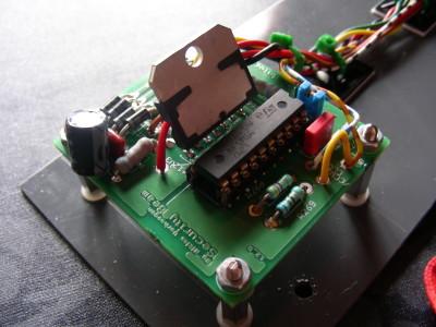 PCB stepper motor controlling