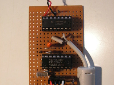 Working prototype with dual MMV